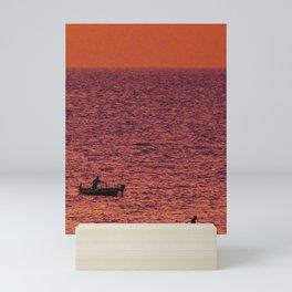Sicilian sunrise Mini Art Print