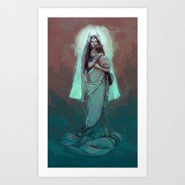 Illustration ; AFK Symmetra Art Print
