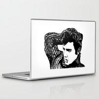 elvis presley Laptop & iPad Skins featuring Elvis Presley by Hippy Hoo Ha