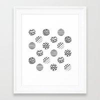 polka dot Framed Art Prints featuring Polka Dot by AndaLouz