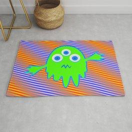 Radioactive Litte Monster Rug