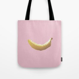 Geometric Banana Tote Bag