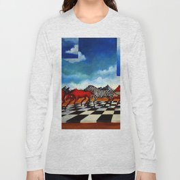 Red Stampede Long Sleeve T-shirt