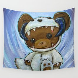 Mr. Chompypants meets a Wampa Wall Tapestry
