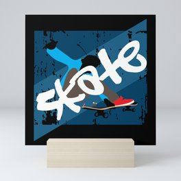 Vintage Skateboard Mini Art Print