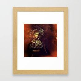 Weeping Framed Art Print