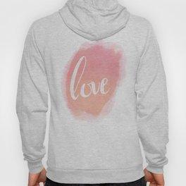 Pretty Love Print With Arrows Hoody