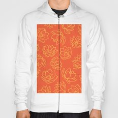 ORANGE LOTUS Hoody