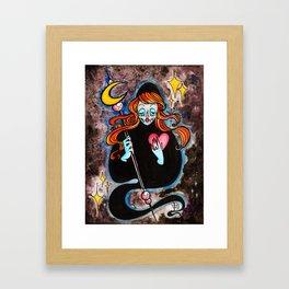 Moon Reaper : Love Framed Art Print
