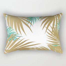 golden leaves Rectangular Pillow