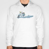 vespa Hoodies featuring Vespa by mtheb