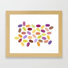 Macarron Framed Art Print