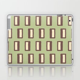 Chad Pattern Sage Green and Brown Laptop & iPad Skin