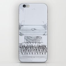 Typed Out iPhone & iPod Skin