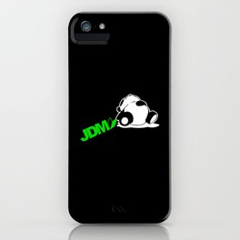 Sleepy Panda JDM iPhone Case