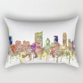Austin, Texas Skylin SG - Faded Glory Rectangular Pillow