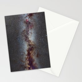 The Milky Way from Scorpio Antares and Sagitarius to North America Nebula in Cygnus Stationery Cards