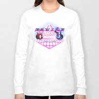regular show Long Sleeve T-shirts featuring Regular 80's Show by Gazulo Marquez
