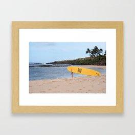 RESCUE ME, KAUAI Framed Art Print