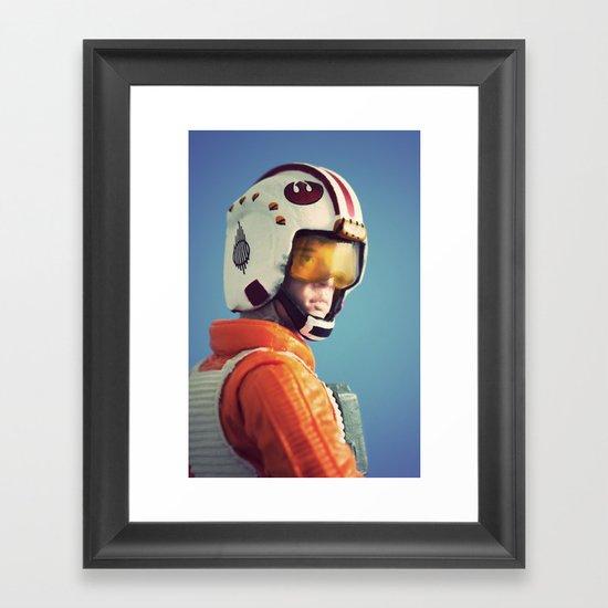 Full Throttle Framed Art Print