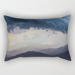 Blue Storm Rectangular Pillow