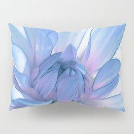 Dahlia blue 202 Pillow Sham