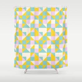 triangular geometric shape Shower Curtain