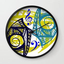 Tribal Musical  Wall Clock