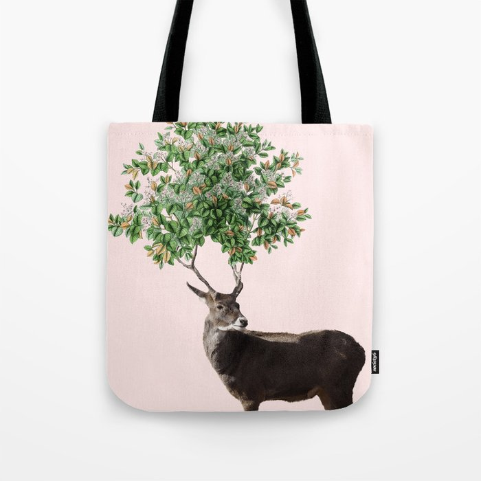 One With Nature V2 #society6 #decor #buyart Tote Bag