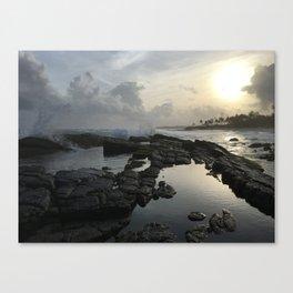 Secret Beach Sri Lanka Canvas Print