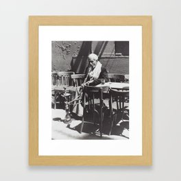 Afternoon, in Cairo Framed Art Print