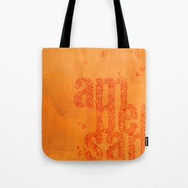 Ampersands Tote Bag