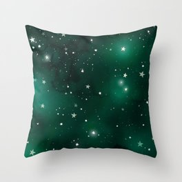 """Interview"" Peace Throw Pillow"