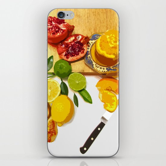 Still Life with Pomegranate iPhone & iPod Skin
