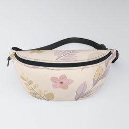 Flower Design Series Fanny Pack