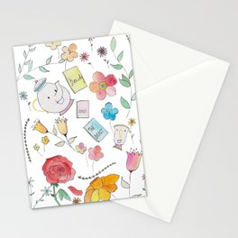 Disney's Beauty And The Beast Stationery Cards