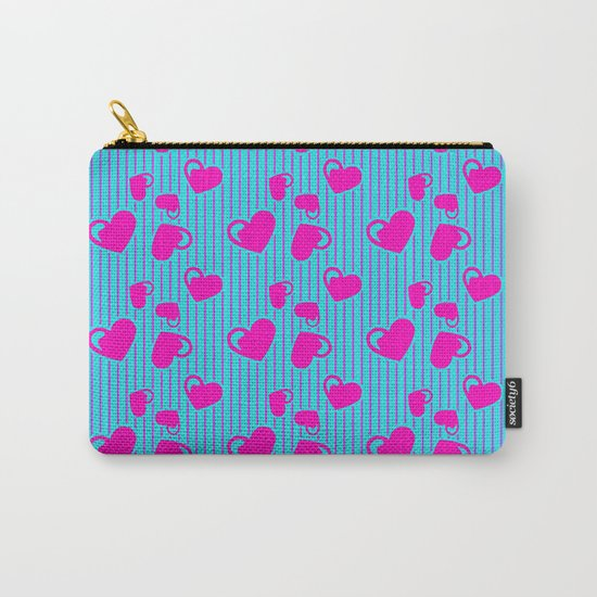 Love in a Stripe  Carry-All Pouch