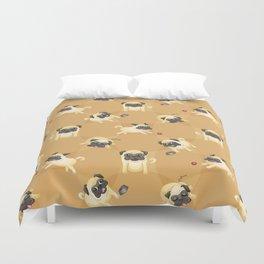 Pug Life (Pattern) Duvet Cover