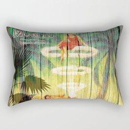mojito beach style 1 Rectangular Pillow