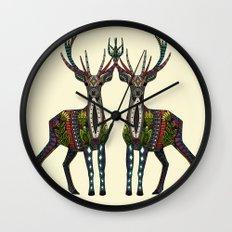 deer vanilla Wall Clock