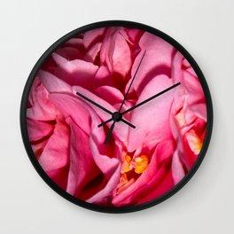 Camellia Close Wall Clock