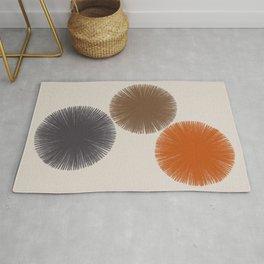 Abstract Circles III Rug