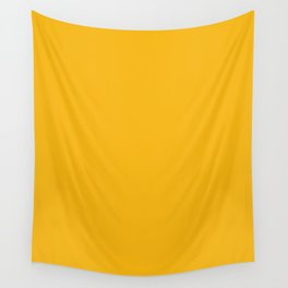 Spanish yellow - solid color Wall Tapestry