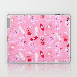 Menhera Nurses on Pink Featuring bears and bandages Laptop & iPad Skin