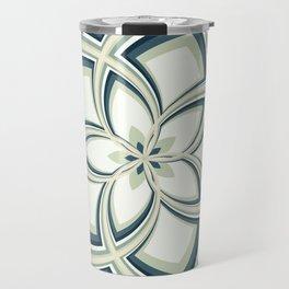Spiral Rose Pattern E 3/4 Travel Mug