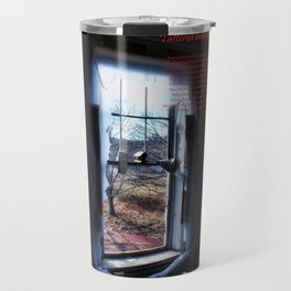 Tattered and torn  Photo and poem ©Tammy Sullivan 2015 Travel Mug
