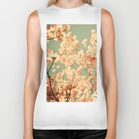 tree Biker Tanks featuring Pink by Olivia Joy StClaire