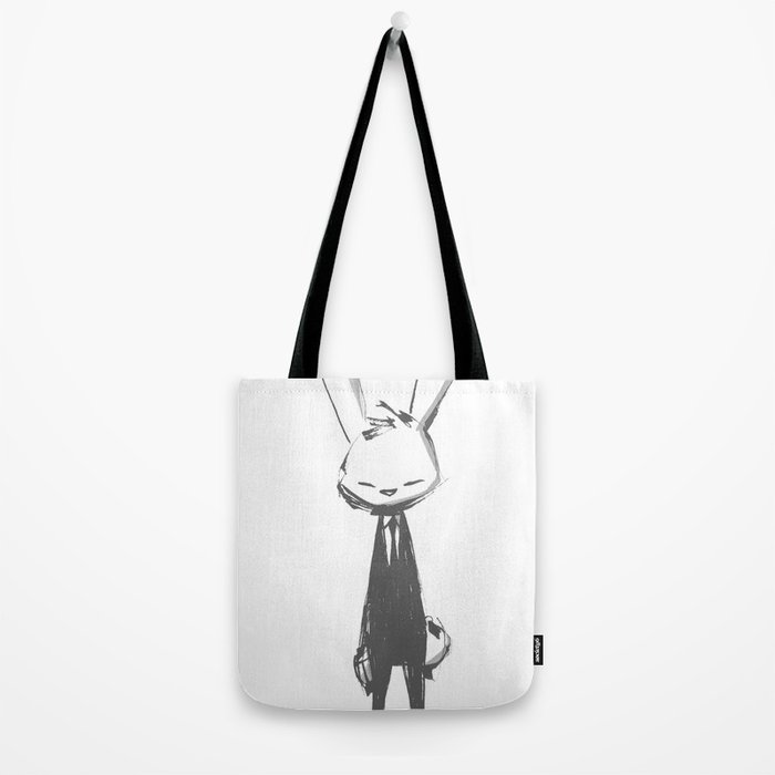 minima - beta bunny pose Tote Bag