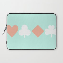 Turquoise & Coral (6) Laptop Sleeve