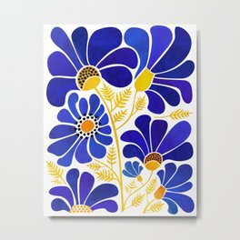 The Happiest Flowers Metal Print